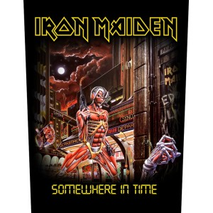 Back Patch Iron Maiden - Somewhere In Time