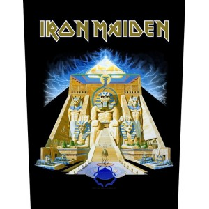 Back Patch Iron Maiden - Powerslave