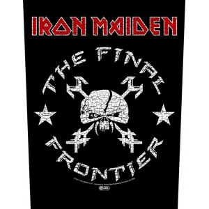 Back Patch Iron Maiden - The Final Frontier Vintage Skull