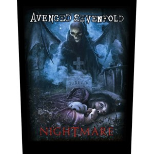 Back Patch Avenged Sevenfold - Nightmare