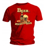 T-shirt Simpsons - Beer Bottle