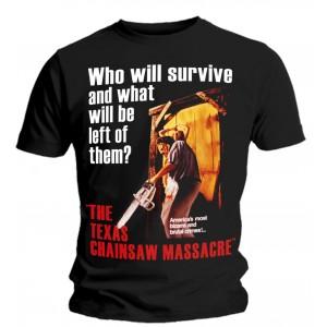 T-shirt Massacre à la Tronçonneuse - Poster