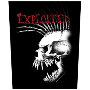 Back Patch The Exploited - Bastard Skull