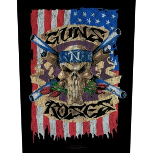 Back Patch Guns N' Roses - Flag