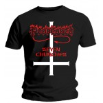 T-shirt Possessed - Seven Churches