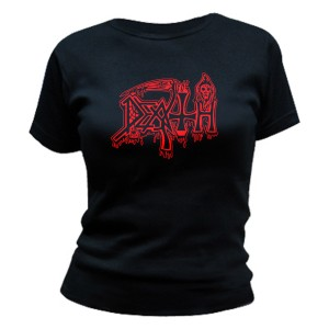 T-Shirt Death - Life Will Never Last - Femme