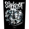 Back Patch Slipknot - I Am Hated