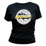 T-shirt Batman - Wall Logo - Femme