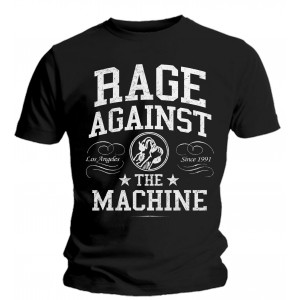T-shirt Rage Against The Machine - College