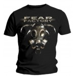 T-shirt Fear Factory - Gas Mask