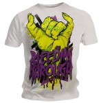 T-shirt Bleeding Through - Shred The Gnar