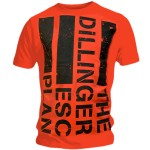 T-shirt The Dillinger Escape Plan - Flag