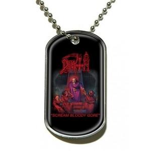 Pendentif Dog Tag Death - Scream Bloody Gore