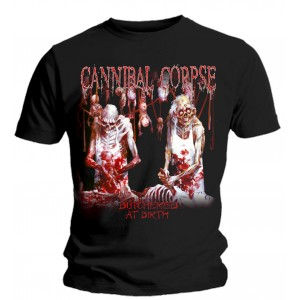 T-Shirt Cannibal Corpse - Butchered At Birth
