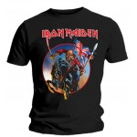 T-shirt Iron Maiden - European Tour 2013