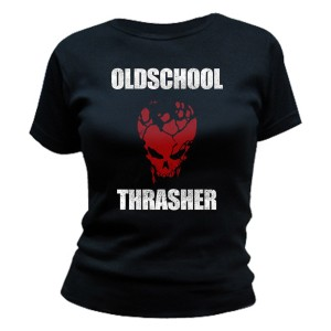 T-shirt Destruction - Oldschool Thrasher - Femme