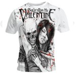 T-shirt Bullet For My Valentine - Russian Roulette
