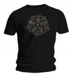 T-shirt Ave Satanas - Pentagram