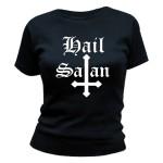 T-shirt Ave Satanas - Hail Satan - Femme