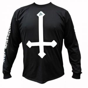 T-shirt Manches Longues Ave Satanas - Hail Satan