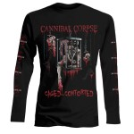 T-shirt Manches Longues Cannibal Corpse - Caged Contorted