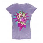 T-shirt Blink 182 - Heather Static - Femme