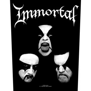 Back Patch Immortal - Blashyrkh