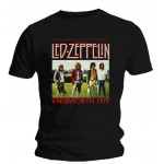 T-shirt Led Zeppelin - Knebworth