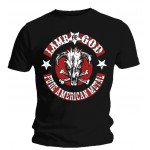 T-shirt Lamb Of God - Pure American Metal