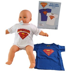 Pack de 2 t-shirts Superman - Logo