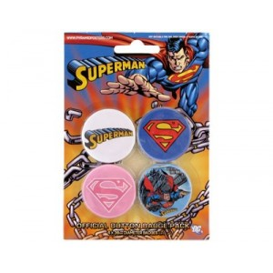 Badges Superman - Pack Logo
