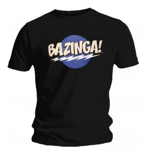 T-shirt The Big Bang Theory - Bazinga