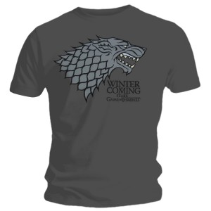 T-shirt Game of Thrones - Stark Logo