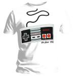 T-shirt Nintendo - Controller