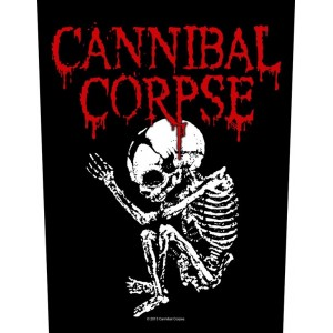 Back Patch Cannibal Corpse - Foetus
