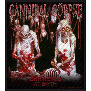 Patch Cannibal Corpse - Butchered At Birth
