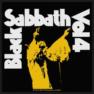 Patch Black Sabbath - Vol. 4
