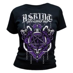 T-shirt Asking Alexandria - Demonic - Femme