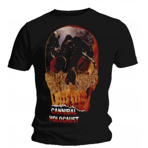 T-shirt Cannibal Holocaust - Skull