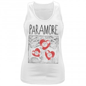 T-shirt Paramore - Top X Ray - Femme