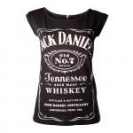 T-shirt Jack Daniel's - Classic Logo Zip - Femme