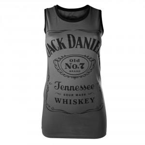 T-shirt Jack Daniel's - Top Classic Logo - Femme
