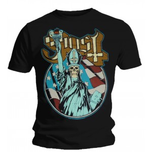 T-shirt Ghost - Statue Of Liberty