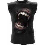 T-shirt Sans Manche Spiral - Goth Fangs