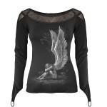 T-shirt Manches Longues Spiral - Enslaved Angel - Femme