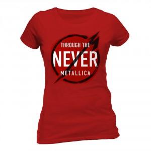 T-shirt Metallica - Never - Femme