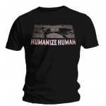 T-Shirt Massacra - Humanize Human + Logo