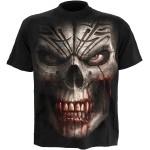 T-shirt Spiral - Skull Shock