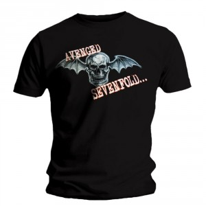 T-shirt Avenged Sevenfold - Bat Skull Glow