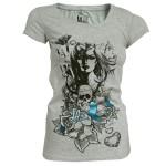 T-shirt LA Ink - Grey Woman - Femme
